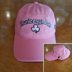 Dunleavy's Pub Pink Baseball Cap