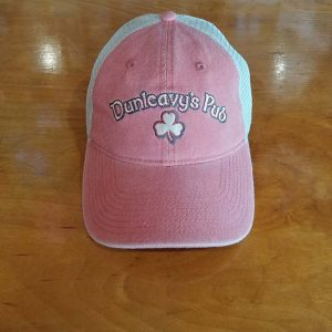 Pink with White Mesh Baseball Cap