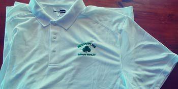 Dunleavy's Pub White Polo Shirt