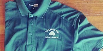 Dunleavy's Pub Green Polo Shirt